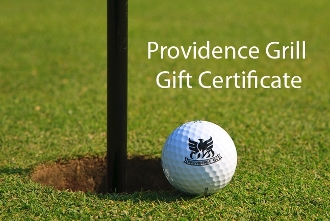 $20 Providence Grill Gift Certifictae